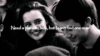 Lovely   Billie Eilish Ft. Khalid LYRICS VIDEO |13 Reasons Why, Season 2|soundtrack