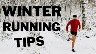 WINTER RUNNING GEAR TIPS AND TRICKS .. Train BETTER in BAD weather!