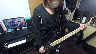 the GazettE - REGRET BASS COVER