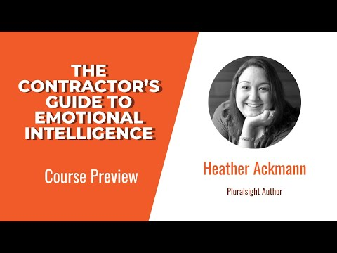 The Contractor's Guide to Emotional Intelligence Course ... - YouTube