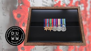 War Medals Display Case | ANZAC Project