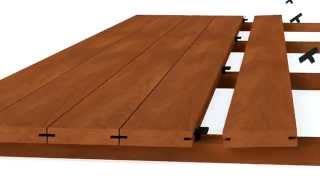 Clip per terrazze HardWood Clip (Esempi d'impiego)