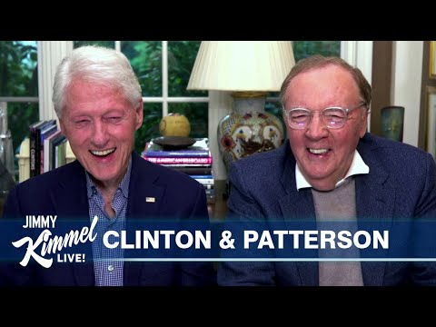 President Bill Clinton & James Patterson on New Thriller, Writing Process & Golfing with Trump