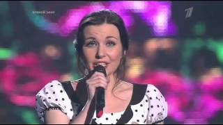 "The Voice Russia 2015 Елена Минина ""Песня Анюты"" Голос - Сезон 4"
