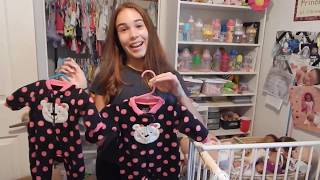 Packing Reborn Baby Clothes To Save Them From Hurricane Irma!