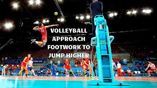 Volleyball Approach Foot Work to Increase Your Spike Touch