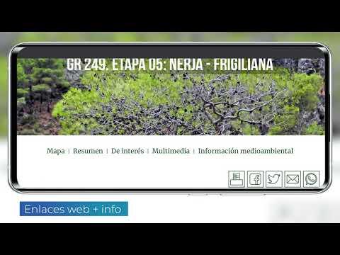 Video clip de App de realidad aumentada Gran Senda de Málaga
