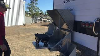 Webber BBQ Box for Caravan