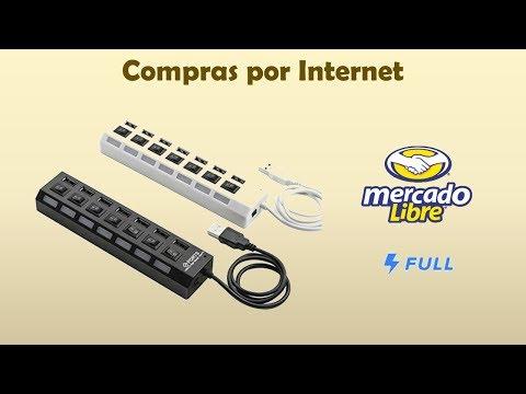 "Unboxing PEDIDO FULL ""Hub Usb 2.0 7 Puertos Con Switch Led"""