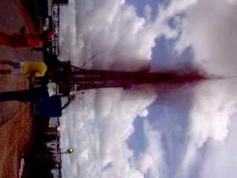 Arremetida de un pozo petrolero