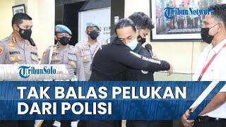 Mahasiswa yang Dibanting Tak Balas Pelukan Polisi yang Minta Maaf, Minta Ditindaklanjuti secara Adil