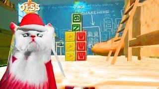 Играем в СИМУЛЯТОР КОТА #4 приключение мульт игры про кошек развлекательное видео для детей