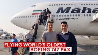 World's Oldest and Last Active B747 Classic – Mahan Air B747-300
