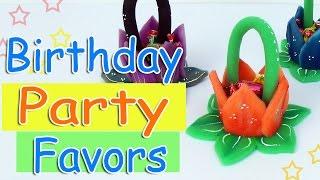 DIY Birthday Party Favors | Souvenir - Ana | DIY Crafts