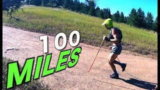 How do you run 100 miles?