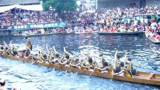preview picture of video 'dragon boat race, Foshan, China 3/3'
