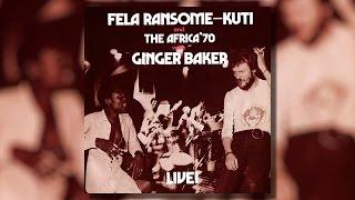 Fela Kuti   Live With Ginger Baker (LP)