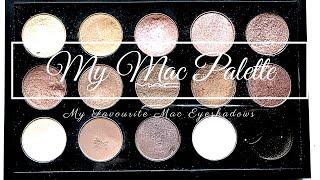 What's In My Mac Eyeshadow Palette   My Favourite Mac Eyeshadows