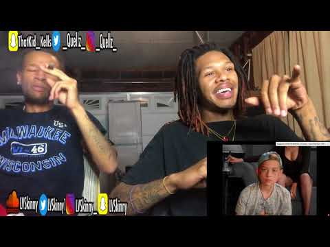 BHAD BHABIE feat. Lil Yachty - Gucci Flip Flops (Reaction Video)