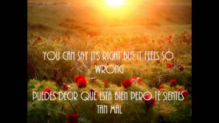 All American Rejects - Sunshine (English-Spanish)
