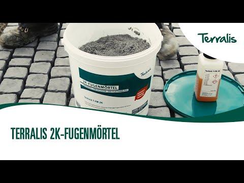 Terralis Verarbeitungsvideo Fugenmörtel 2K