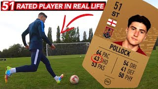 He has 43 Shooting on FIFA, But is a BEAST in Real Life!!