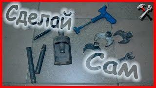 Самодельные приспособления для гаража #инструмент
