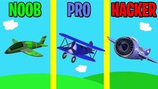 NOOB vs PRO vs HACKER in Merge Plane!