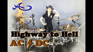 [New] AC/DC - Highway to Hell drum cover by Ami Kim (39th)