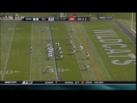 Northwestern Wildcats vs. Eastern Michigan Eagles - 9/12/09