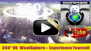 360 Videos | The GAP Trail from Confluence-Ohiopyle in 360º | Virtual Reality | Woofsphere