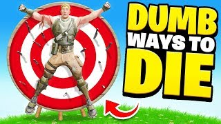 15 DUMB ways to DIE in Fortnite (Hilarious)