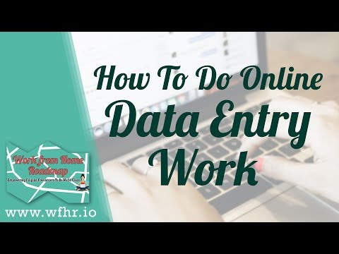HOW TO DO ONLINE DATA ENTRY WORK | JASON DULAY