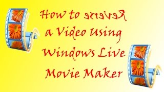 How To - Ep #6  - Fix Shaky Videos With Windows Movie Maker