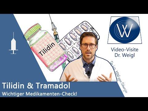 Opioide Tramadol (Tramal) & Tilidin als Medikamente bei starken Schmerzen: Wirkung & Nebenwirkungen