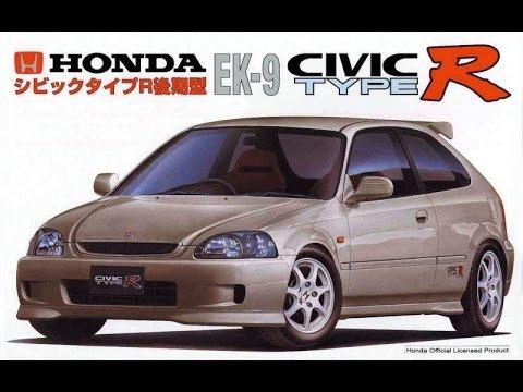 Honda Civic EK9 TypeR - B16B - Обзор и тестдрайв