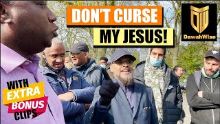 Deceptive Christian Preacher Runs From Hashim   Speakers Corner   Hyde Park