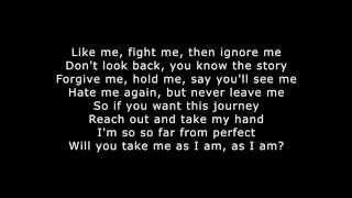 take me as i am example_lyrics
