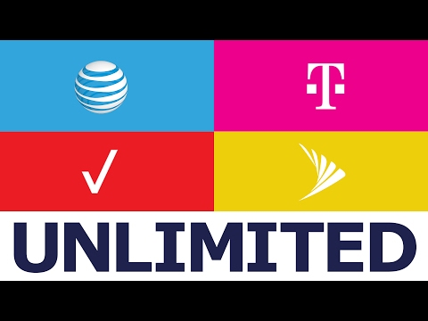 Data Plan Comparison: Unlimited Options From T-Mobile, Verizon, AT&T and Sprint