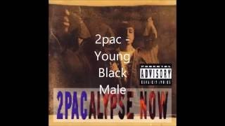2pac- Young Black Male lyrics (HQ)