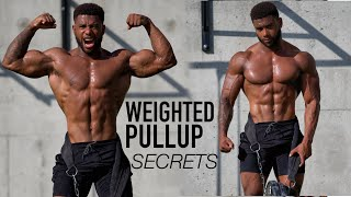 GET A STRONGER WEIGHTED PULLUP (TECHNIQUE REVEALED)