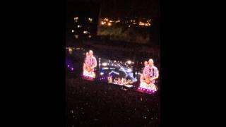 Zac Brown Band singing Bohemian Rhapsody @ CMAFest June 12 2015