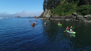 Oregon Coast Guided Kayak Tours 4K - Lincoln City OR