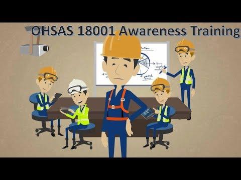OHSAS 18001 Awareness Training, whs, hse, osh - YouTube