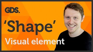 'Shape' Visual element of Graphic Design / Design theory Ep4/45 [Beginners guide to Graphic Design]