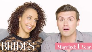 Couples Married for 0-65 Years Answer: When Did You Know You Were In Love?   Brides