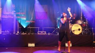 Anggun - C'est ecrit live in Mouscron Belgium (short video)