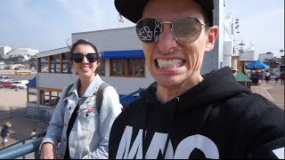 Having way too much fun with the fam in LA vlog TompkinsLife