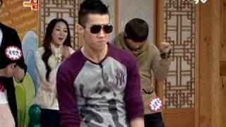 010109 [HQ] 2pm's Jaebum  dances to Rainism + Only You