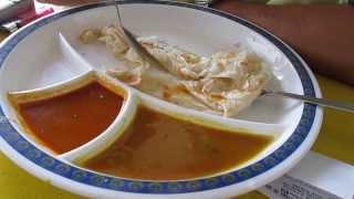 preview picture of video 'Roti Canai, Pelita Tesco, Ipoh, Food Hunt, Gerryko Malaysia'